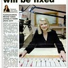 Item from Daily Advertiser 19 April 2007