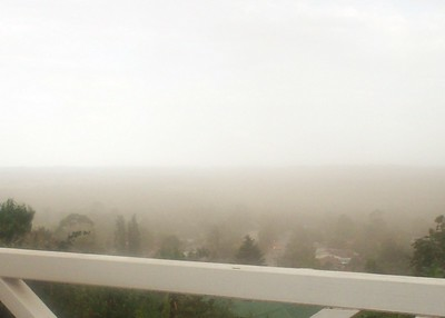 11/1/08 Dust Storm over Wagga