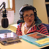 While everyone else was having fun outside, Jenny Hillier kept the radio station on the air!