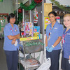 After Patricia and Steven had finished admiring their shopping, the toys were delivered to the Children's Ward.