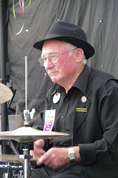 George Ceely on drums