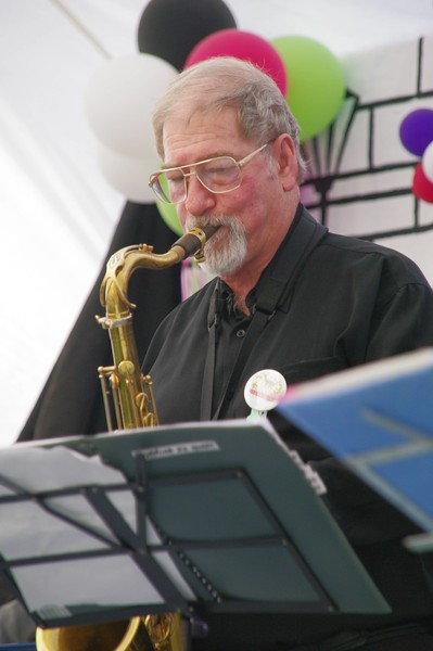 Peter Brown on Sax