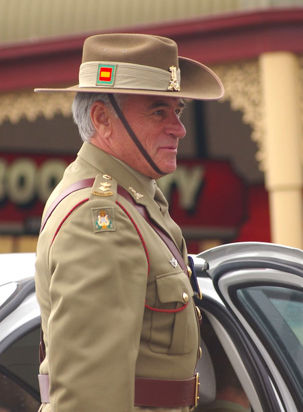 The Boss (Lt Col. Ian McLean, Director of Music - Army) seemed to be happy with how it all went...