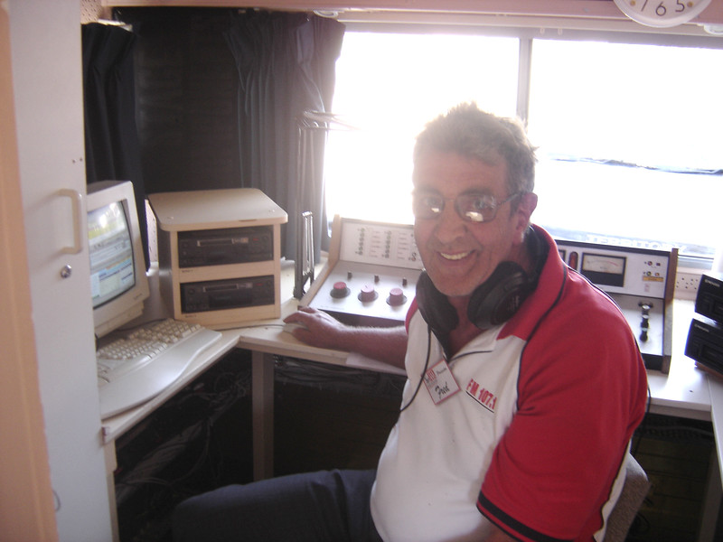 Fred Velthuis on the air!