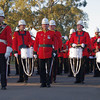 The Australian Army Band Kapooka prepare to Beat the Retreat