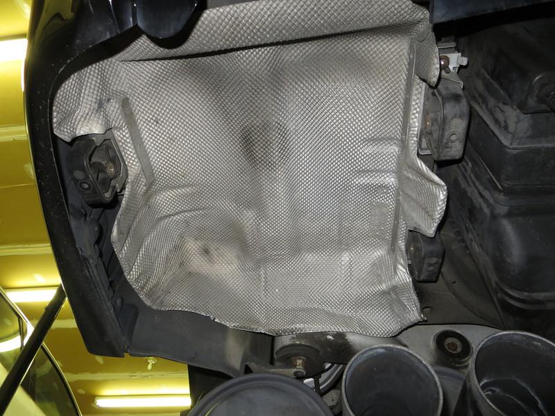 Installing heat shields