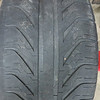Rear tire edge wear