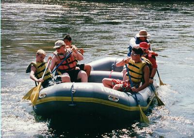 2000 - Whitewater Rafting @ Kern River