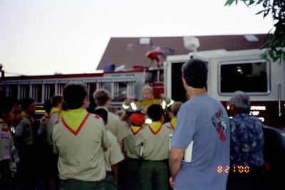 8/21/2000 - Troop meeting