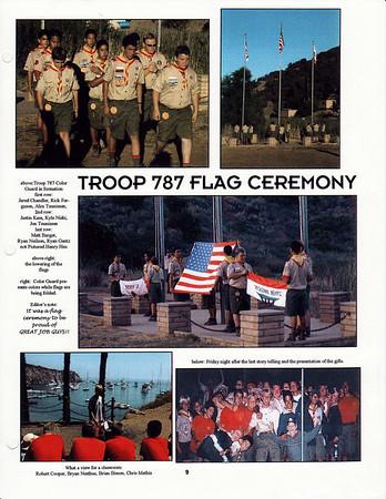 July 2000 Troop Talk - Summer Camp