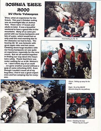November 2000 Troop Talk - Volume 1, Issue 10