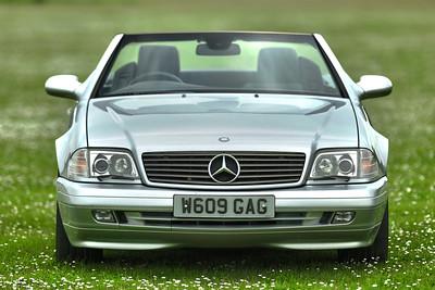 2000 Mercedes Benz SL 320 W609 GAG