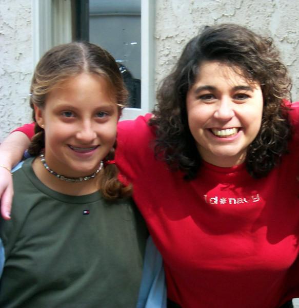 JULIA & teacher Tara
