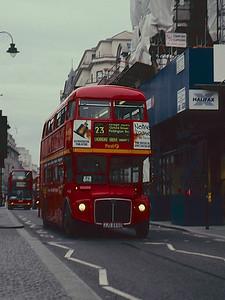Double-decker bus, London