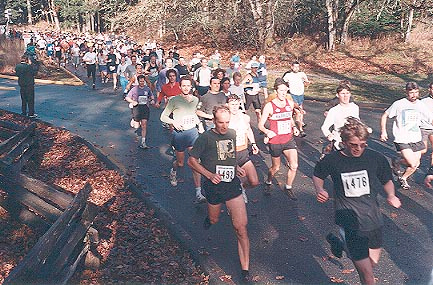 2000 Gunner Shaw XC - Down the hill at the start