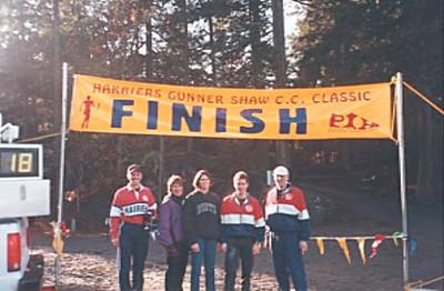 2000 Gunner Shaw XC - Reid, Melvin, Begg, Smyth, Turner