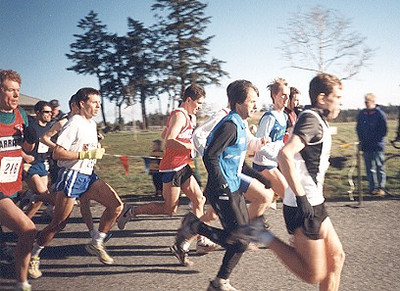 2000 Harriers 8K - Seconds after the start