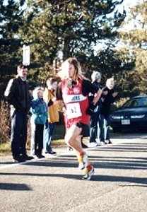 2000 Harriers 8K - First place Jim Finlayson
