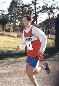 2000 Harriers 8K - Second place Paddy McCluskey