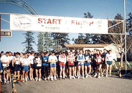 2000 Harriers 8K - Seconds before the start