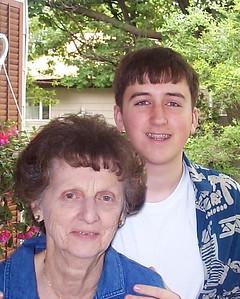 Aunt Nea w/ Matt