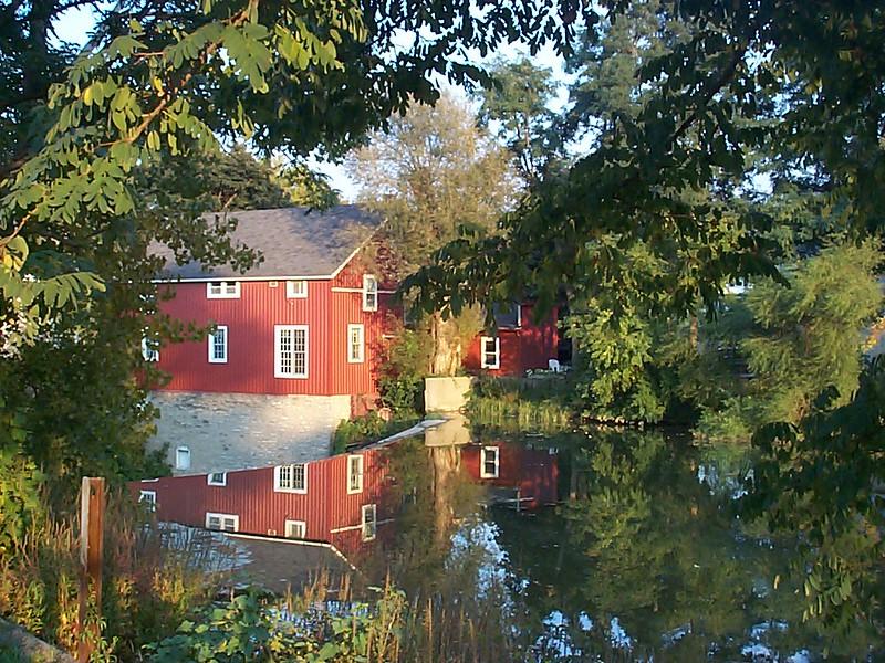 Red Barn at the Falls