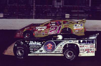 0 Scott Bloomquist and 21 Billy Moyer