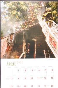 Firefighting Calendar - 2002