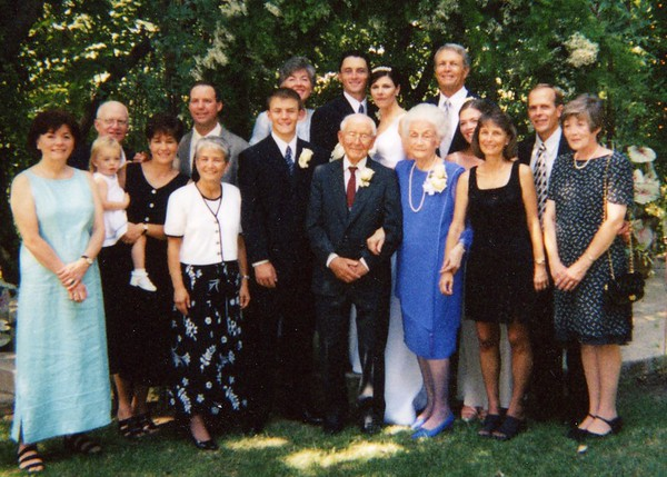 Janel and Danny Wedding 2000