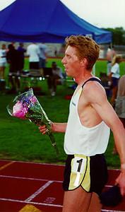 Kevin Sullivan runs fastest mile ever inside of Michigan. 3:55.87. (June 10, 2000)
