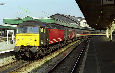 47818 on arrival at Bristol Temple Meads with 1V39 0640 ex-York (08/04/2000)