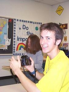 Adam in Drama Class