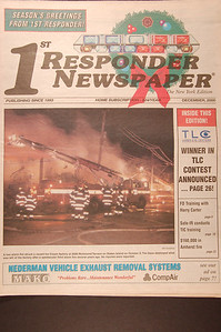 1st Responder Newspaper - N.Y. - December 2000