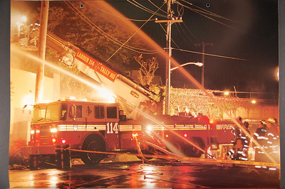 Fire Trucks in Action Calendar - 2004
