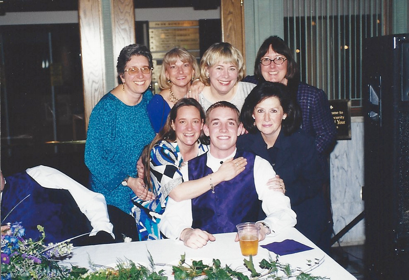 Beth, Priscilla, Chris, Janet, Diane, Russell, Tara.