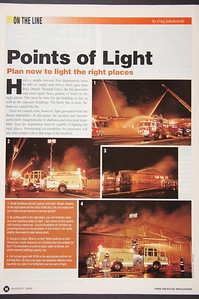 Fire Rescue Magazine - August 2000