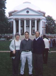 UVA Law Graduation 2000
