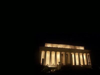 Lincoln Mem. at Night