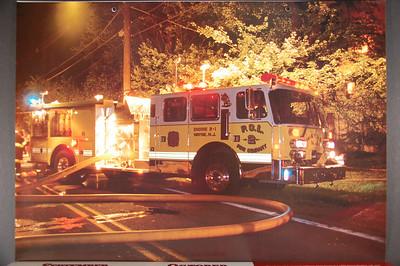 Fire Trucks in Action Calendar - 2004