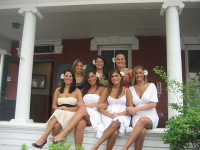 Chelsea Lamonica, Katie O'Hea, Bridget Tortora, Keri Laux, Kristina Vranges, Mariel Schlecht, Crissy Lewis  Clio Seniors 2008