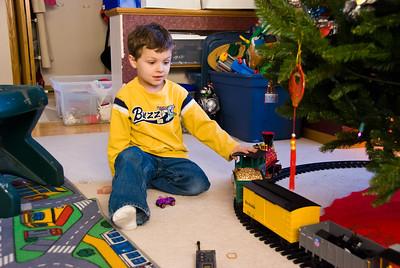 2007 Nov - Christmas Tree Train