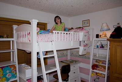 2008 June - Gina's New Bed