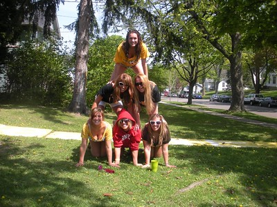 Kristen Felicione, Megan Darlington, Lauren Kline, Carla Brugnoni, Christina Piccirillo, Carissa Canovas, Rachel Greenberg, Brooke Adams  Clio Seniors 2010