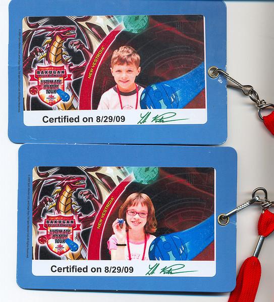 2009-08-29 BakuganEventBadges1