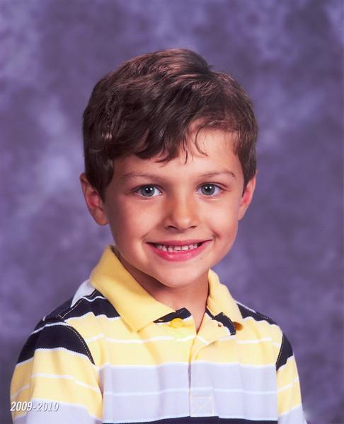 Zach's third grade fall portrait
