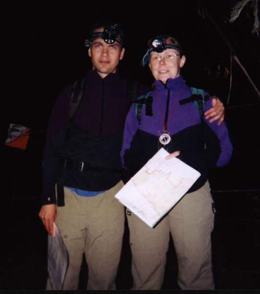 Andrew Hassell and Elinor McKone<br /> doing it in the dark at the 12hr