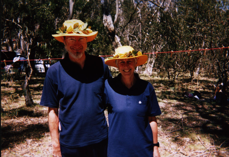 Tim and Lynn Pulford looking dapper at the Spring 6hr
