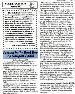 October 2001 Troop Talk - Volume 2, Issue 9