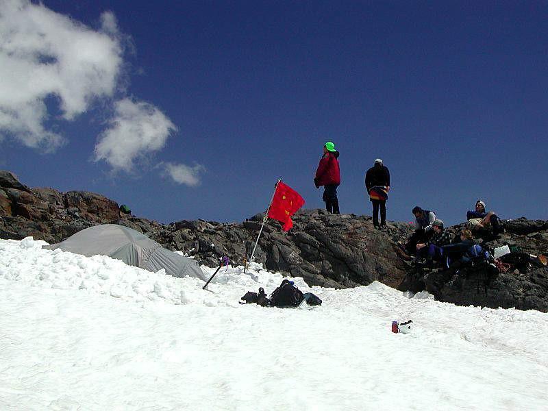 Base Camp 6400 ft