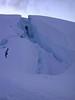 Eastman Glacier Crevass 8200 ft